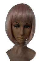 Hot Sell Cosplay Wig Pink wig BOBO Wig For Women Free Shipping