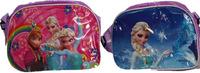 2014 Promotion Direct Selling Pillow Lace Handbag Spot Foreign Trade Frozen Snow Princess Mirror Leather Shoulder Bag Messenger