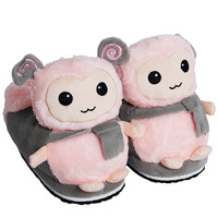 USB Foot Warmer Shoes Soft Electric Heating Slipper Cute Sheep High Slippers  Many Colors Chiristmas Gift