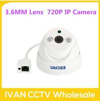 Escam QD530 dome CCTV Security Camera 720P IR  H.264 1/4 CMOS IP Camera Night Vision P2P 1.0MP Mini Camera