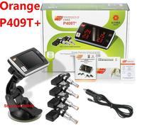 Original Orange TPMS P409T+ Universal TPMS Wheel, PSI/BAR measurement Tire Air Pressure Monitor, 4 internal  Wireless Sensors