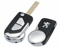 Peugeot New product  *Peugeot  remote car key cover , case, blank  key shell 2 button flip for citroen ,peugeot car models