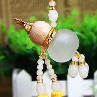 Dual shall hoist car ornaments fashion crystal perfume bottle car accessories  Interior Accessories  Ornaments