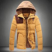 Free shipping famous brand plus size XXL 4xl 5xl 6xl Winter hood coat jackets fur down jacket men velvet thickening thermal