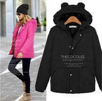 2014 fashion winter women coat plus size clothing thickening wadded thickening down jacket outwear women XXL-5XL