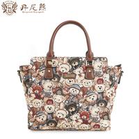 Danny BEAR fairy wings fashion bag bear casual women handbag messenger bag for db 7701