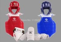 [Maria's] Free Shipping - Full Set(5PCS) Child Taekwondo Karate Protectors WTF Mosso Protective Gear S(110~130cm) M(130~150cm)