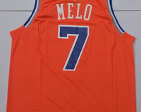 Free shipping Top Class Team Star New York Basketball Jerseys Carmelo Anthony  #7 Melo Sport Shirt Uniform Game