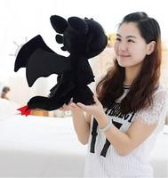 2pcs/set 30cm How To Train Your Dragon 2 Plush Toy Toothless Dragon Stuffed Animal Dolls Movie Toys Free Shipping