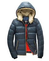 DHL Free shipping  helly hansen woolrich winter hooded grey goose down men's coat down winter jacket