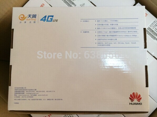 Huawei B880-65 LTE FDD 800/900/1800/2100/2600Mhz TDD 2600Mhz Mobile Gateway Wireless Router(China (Mainland))