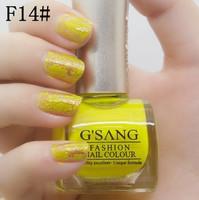 sale 3pcs famous china gsang brand crackle nail lacquer polish be mixed glaze shatter crack colors nail polish bulk
