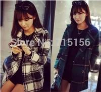 Free shipping hot sale winter coat women abrigos mujer casacos femininos women's coats 2014 wool coat desigual coat new arrivel