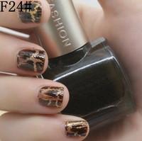 free ship 2pcs famous china gsang brand crack nail polish F24# glaze nail lacquer shatter crack colors nail polish bulk