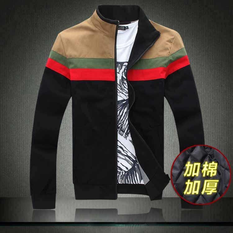 Free shipping famous brand plus size XXL 4xl 5xl 6xl Winter thicken cotton stand collar men