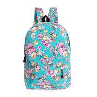 Women backpack floral men mochila kippling feminina canvas travel bag school bags for teenagers masculina mochilas laptop sport