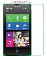 5pcs/lot Clear Screen Protector For Nokia X A110 Screen Protective Film Without Retail Package