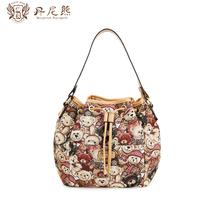 Danny BEAR fairy bear fashion bucket bag women's messenger bag for db 7706