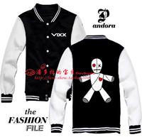 VIXX VOODOO N Leo Ken Ravi Hong bin Hyuk Eternity baseball uniform hoodie kpop