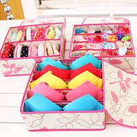 Underwear piece storage box set covered bra panties socks storage box finishing storage box