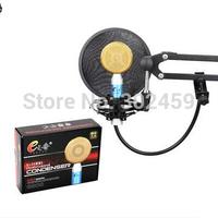 Top Quality studio microphone computer e1000,for Skype Singing  pc studio microphonRecording microfonoe bm 700 magic sing
