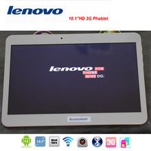 New 2014 Lenovo Tablet pc Quad Core 10.1 inch MTK6582 WCDMA 3G Phablet4G/32G Android 4.4 GPS bluetooth Tablets  Free Shipping