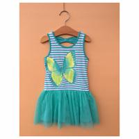 Girl Elsa & Anna Princess Dress Girls' Summer Frozen Dresses New 2014 Wholesale Kids Frozen Clothes 9pcs/lot S-1674