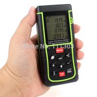 40M Digital Handheld portable Laser Distance Meter Rangefinder Bubble Level Tape Measurer Tool