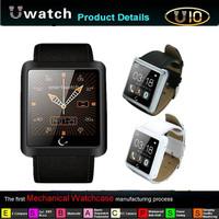 2014 Newest 1.54 Inch U10 U Smart Anti-lost Bluetooth Watch Waterproof Smart Android Watch For iPhone/SamsungHTC Smartphones