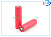 Free shipping 2pcs/lot 18650 Li ion Cell Sanyo NCR18650BF 3.7v 3400mAh rechargeable batteries for e-cig