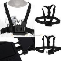 Adjustable Chest Body Harness Belt Strap For Go Pro GOPRO HD Hero 1 2 3 4 3+ Plus