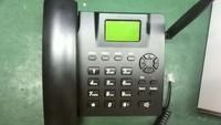 GSM Desktop phone with gsm sim slot, SMS + Voice+ Radio, GSM Table phone