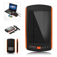 23000mAh Solar Panel Power Bank Battery Charger For IOS Android Tablet PC Laptop