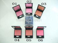 Free hk post  (1PCS/LOT) 2015 CD blusher edition dentelle blush poudre couleur lumere glowing color powder blush 7.5g