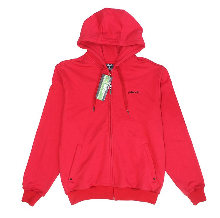 hip hop brand designer cardigan Original brand sportswear red blank hoodies pelle pelle coats(China (Mainland))