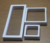 Free Express shpping  SAMPLE  clear plastic membranes photo frame display/ collection box/jewelry box -ourself mold