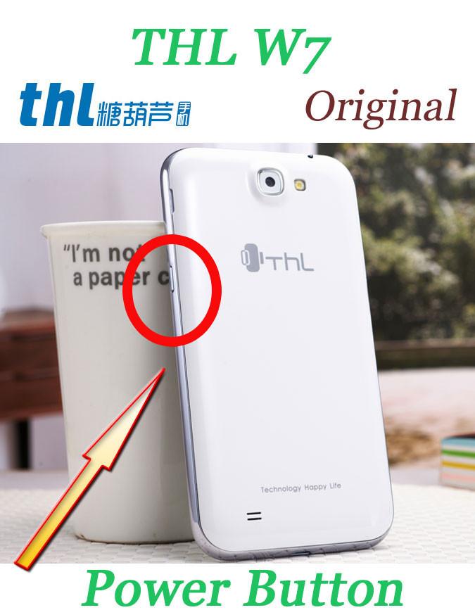 Оригинальный кнопки ключ для THL W7 мобильный телефон бесплатная доставка