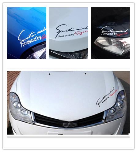 1PCS Car Stickers Decal Rv Trailer Decals Graphic Sticker car styling Logo Random Color gm147(China (Mainland))