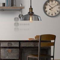 Nordic American designer lamp simple modern European restaurant bar retro single head smoked pot chandelier yc
