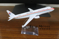 Eastern Airlines  Airbus A320 Air alloy aircraft Children's Gifts Airplane metal Model free shipping