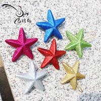 Bobby five-pointed star foam powder christmas tree decoration 6cm bag 6