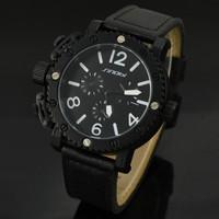 Hot sale 2014 casual fashion men luxury brand analog sports military watch sinobi watches  high quality quartz watch men gift