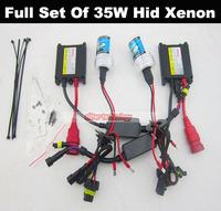 Wholesale 35W H1 H4 H7 H3 H9 H10 H11 H13 9005 9006 881 Kit 35W Hid Xenon 50Set/lot