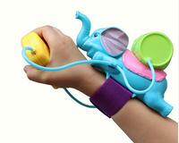 child children water pistol wrist length type water spray  gun water wrist Elephants spray toy gun  Summer splashing water fight