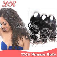 Brazilian Virgin Hair Natural Wave 3 bundles lot Human Hair Weave Cheap 6A Grade Unprocessed Human Hair Extension Fast Delivery!