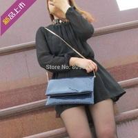 Free shipping! 2013 stone pattern one shoulder cross-body chain women's bag handbag bag