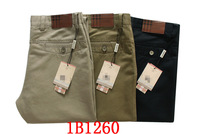 2014 trousers men's clothing casual pants fashion 100% easy care cotton casual trousers male skinny jeans pants
