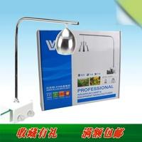 Stainless steel led aquarium mini clip lamp small drop pendant light 1w 3w