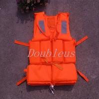 Life Jacket Foam Buoyancy AID Vest KAYAK Sailing CANOE Lifejacket JET SKI Orange