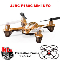 JJR/C F180 Real 6-Axis GYRO RC Drone 2.4G 4CH RC Quadcopter Mini UFO 360 Eversion 3D Helicopter Best Gift With Original Box